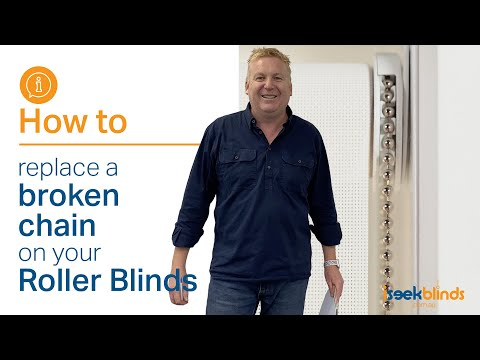 How to replace a broken chain on your Roller Blind