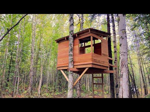 Build a Modern Kids Treehouse #anawhite