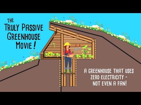 truly passive greenhouse kickstarter