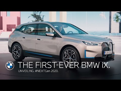 The first-ever BMW iX - Unveiling. | #NEXTGen 2020.