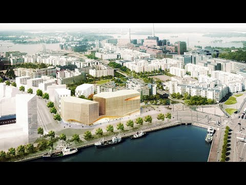 Why Finland is Building a Wood City