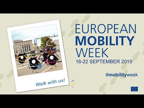 Walk with us! EUROPEAN MOBILITY WEEK 2019