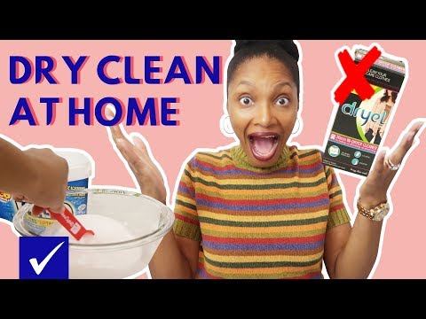 DRY CLEAN CLOTHES AT HOME without WOOLITE OR DRYEL