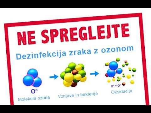 Generator Ozona in Dezinfekcija z Ozonom