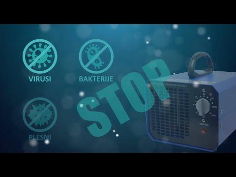 Popolna Dezinfekcija z Ozonom - Generator Ozona - Ozonator