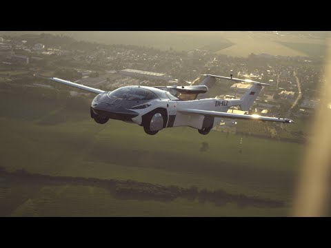 The flying car completes first ever inter-city flight