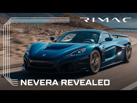 NEVERA REVEALED | Production model of the all-electric Rimac hypercar