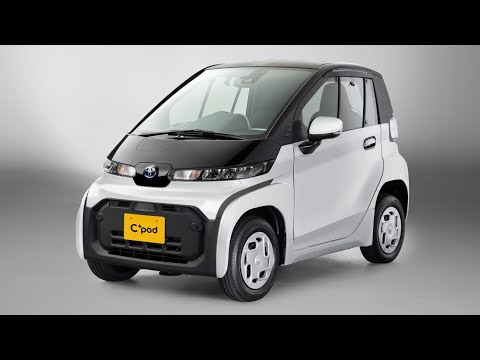 All New 2021 Toyota C+Pod EV | The Best Urban Mobility Vehicle