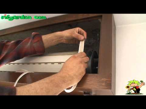 Replacing the cord of a roller shutter