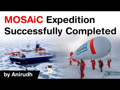 MOSAiC Expedition facts explained - Historic Arctic expedition completed by German ship #UPSC #IAS
