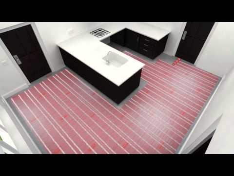 Video vodič namestitve Warmup grelnih preprog za talno gretje