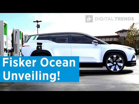 EXCLUSIVE! Watch The Fisker Ocean Unveiling Live Only On Digital Trends