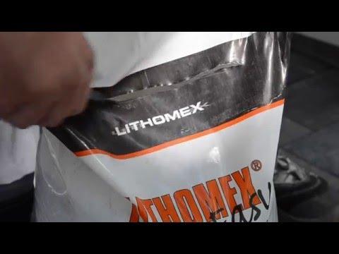 Lithomex Easy Joint Filler Guide - English Engelsk