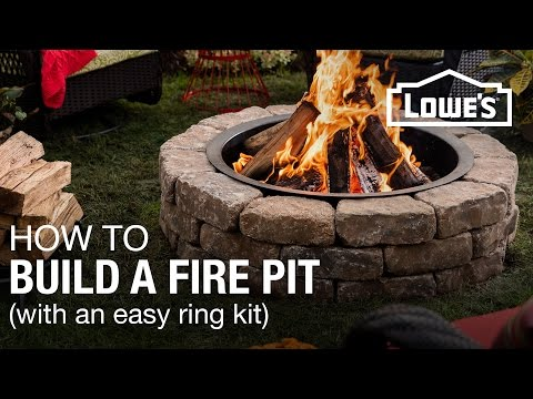 How To Build a Fire Pit (w/a Ring Kit)