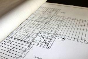načrti za gradnjo objekta