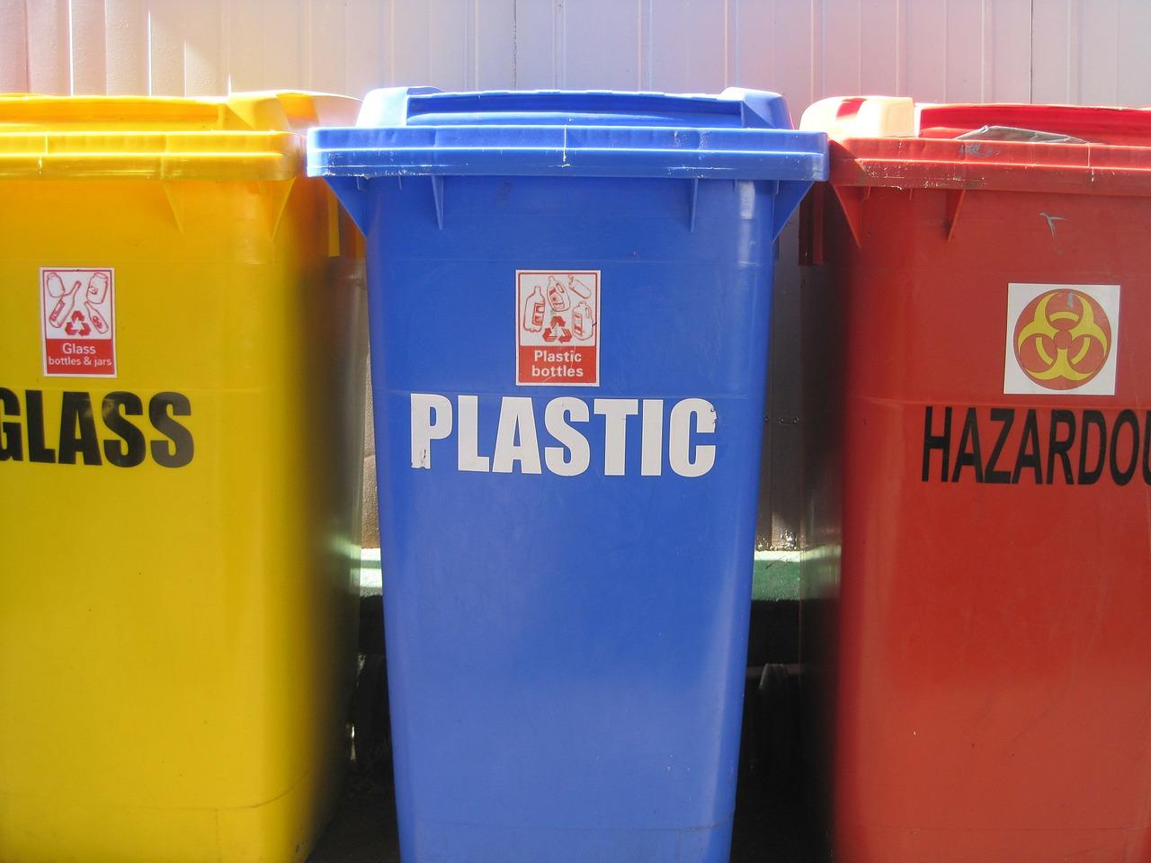 ločevanje odpadkov in reciklaža