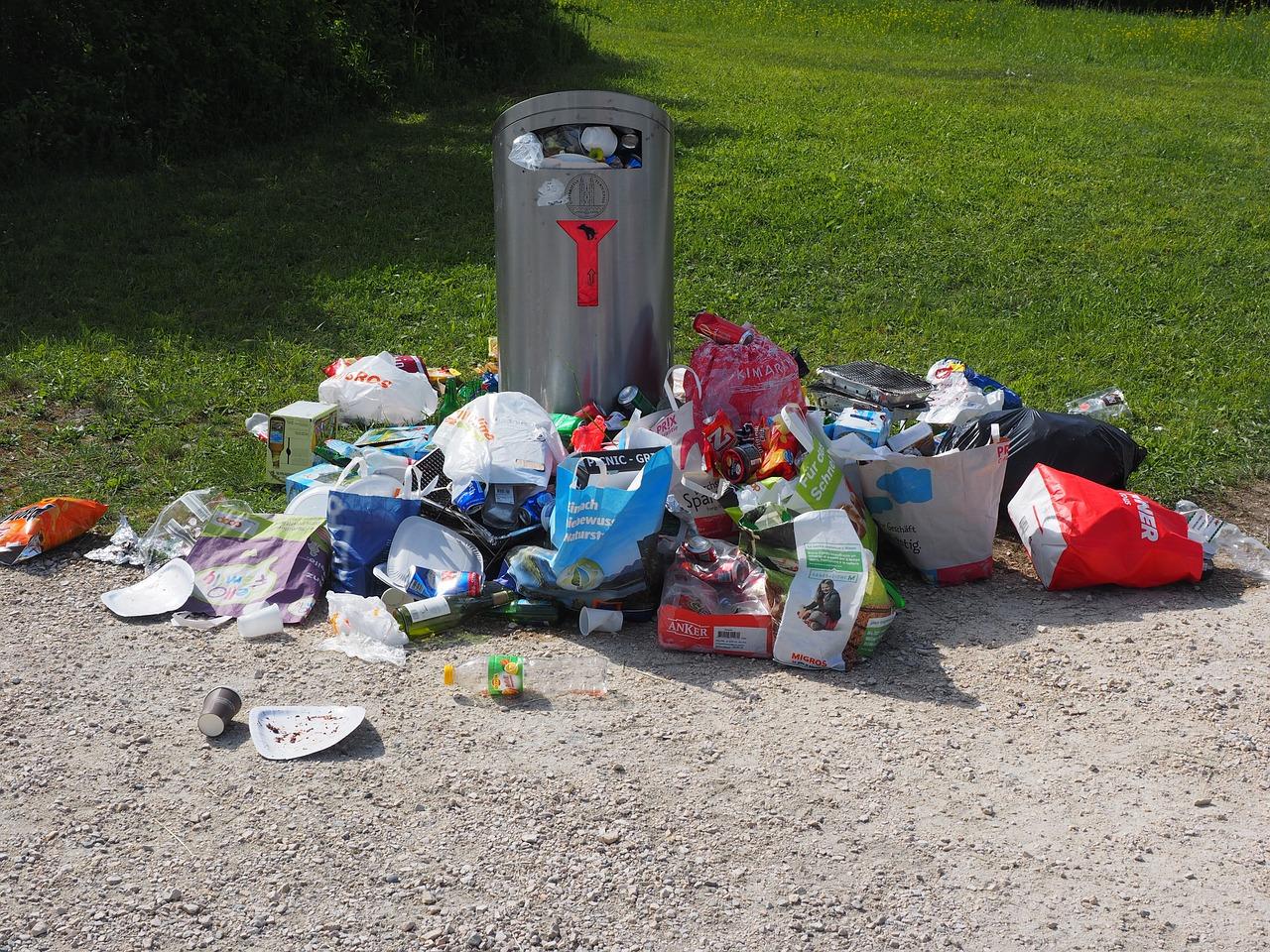 odpadki in recikliranje