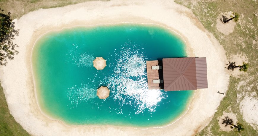 plaža namesto bazena