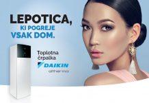 Toplotna črpalka Daikin Altherna - Lepotica, ki ogreje vsak dom