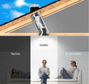 Tehnološko dovršeni optični cevasti sistemi Solatube vso zunanjo razpoložljivo svetlobo učinkovito prenesejo v notranjost stavbe. Svetloba potuje skozi strešno kupolo v visoko odbojne cevi, zatem pa se preko stropnega razpršilnika učinkovito razprši po prostoru. Vgradnja sistema je hitra in povsem enostavna.