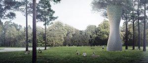 Čistilci zraka v parku