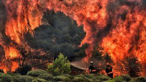 Obsežni požari v Severni AMeriki in Avstraliji so neposredna posledica dviga temperature
