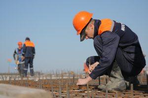gradnja in gradbišče
