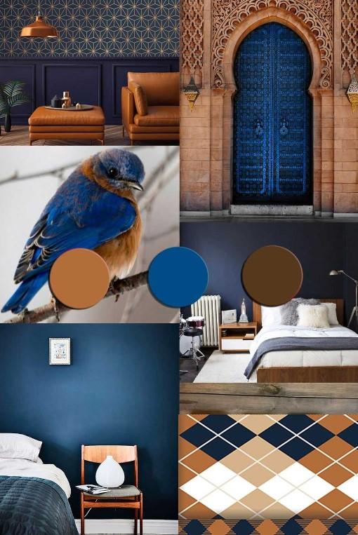Pantone klasična modra