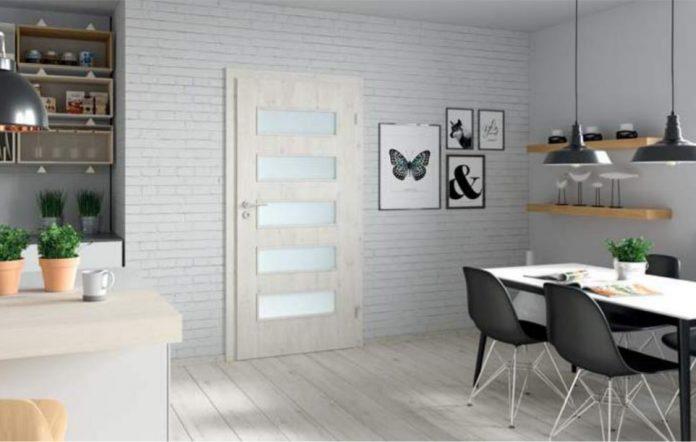 notranja bela vrata