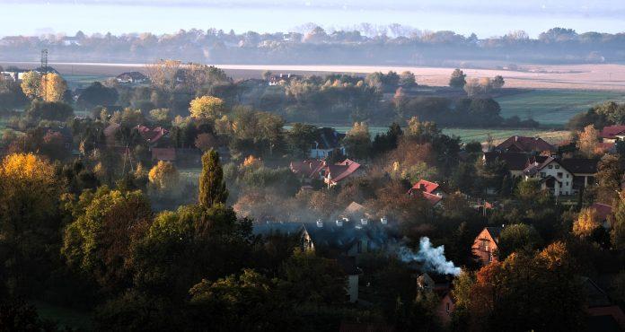 Smog v stanovanjskem naselju