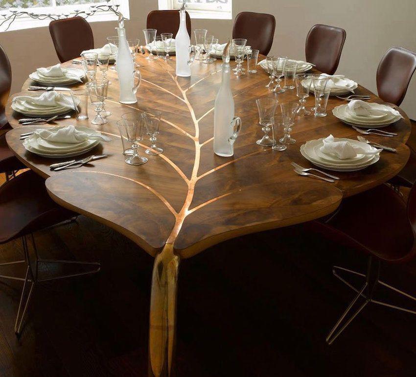 Miza je lahko tudi katere koli druge oblike, ne le standardne