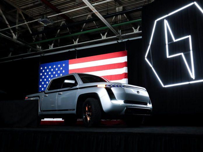 Predstavitev novega električnega pol tovornjaka Endurance