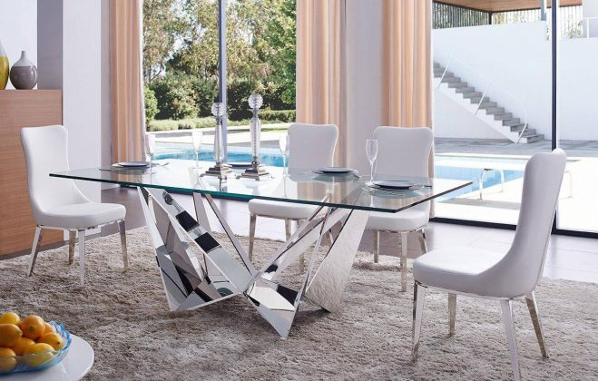 Steklena miza