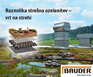 Bauder | Raznolika stršna ozelenitev