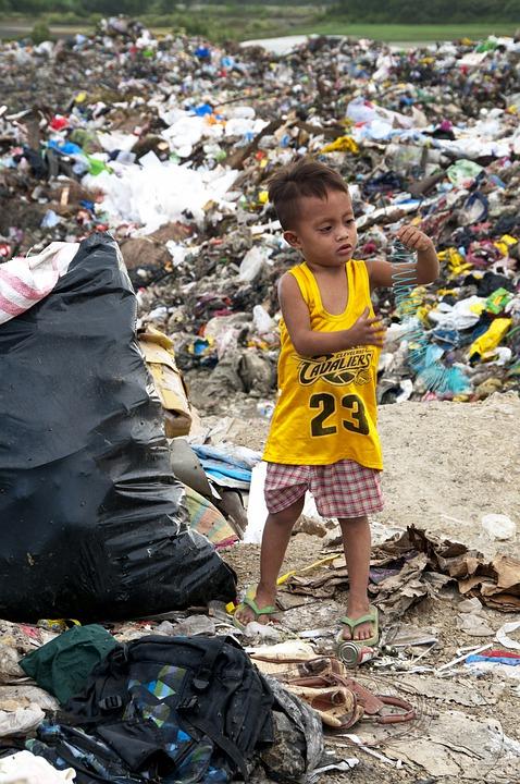Otrok na smetišču