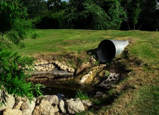odtok odpadne vode v naravo