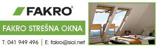 Fakro strešna okna