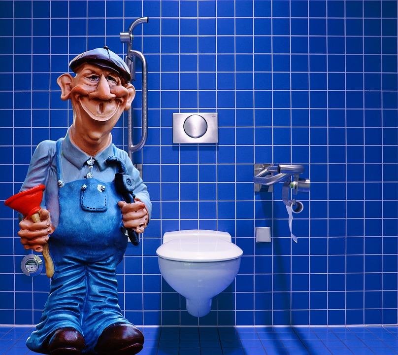 Vodovodar v kopalnici