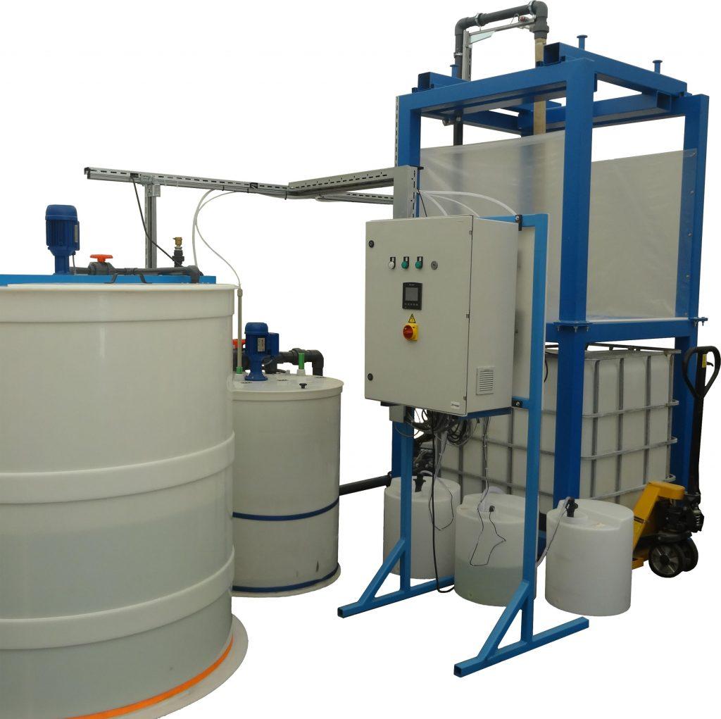 Industrijska čistilna naprava Vodateh