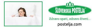 Slovenska postelja - zdravo spati, zdravo živeti