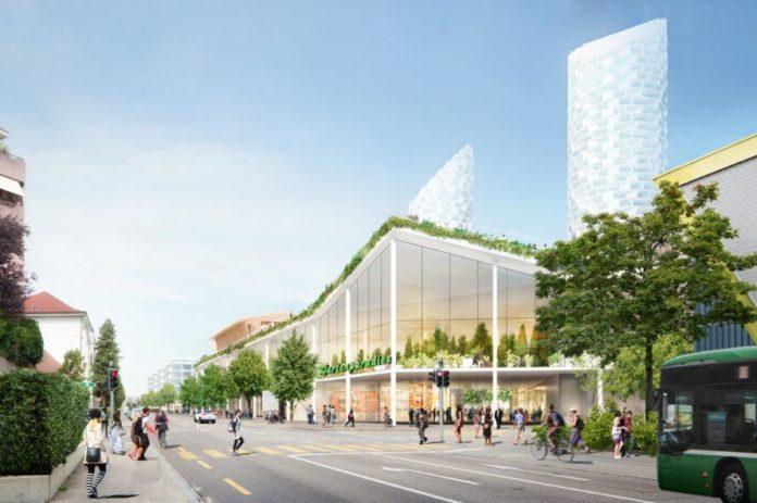Predvideni videz na novo zgrajenega nakupovalnega centra 4