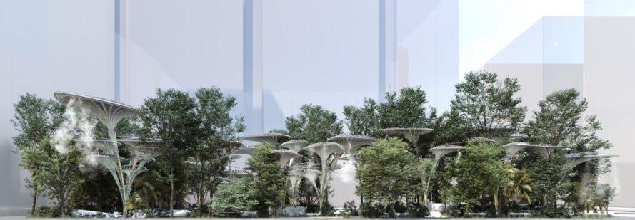 Projekt Oasys podjetja Mask-Architects