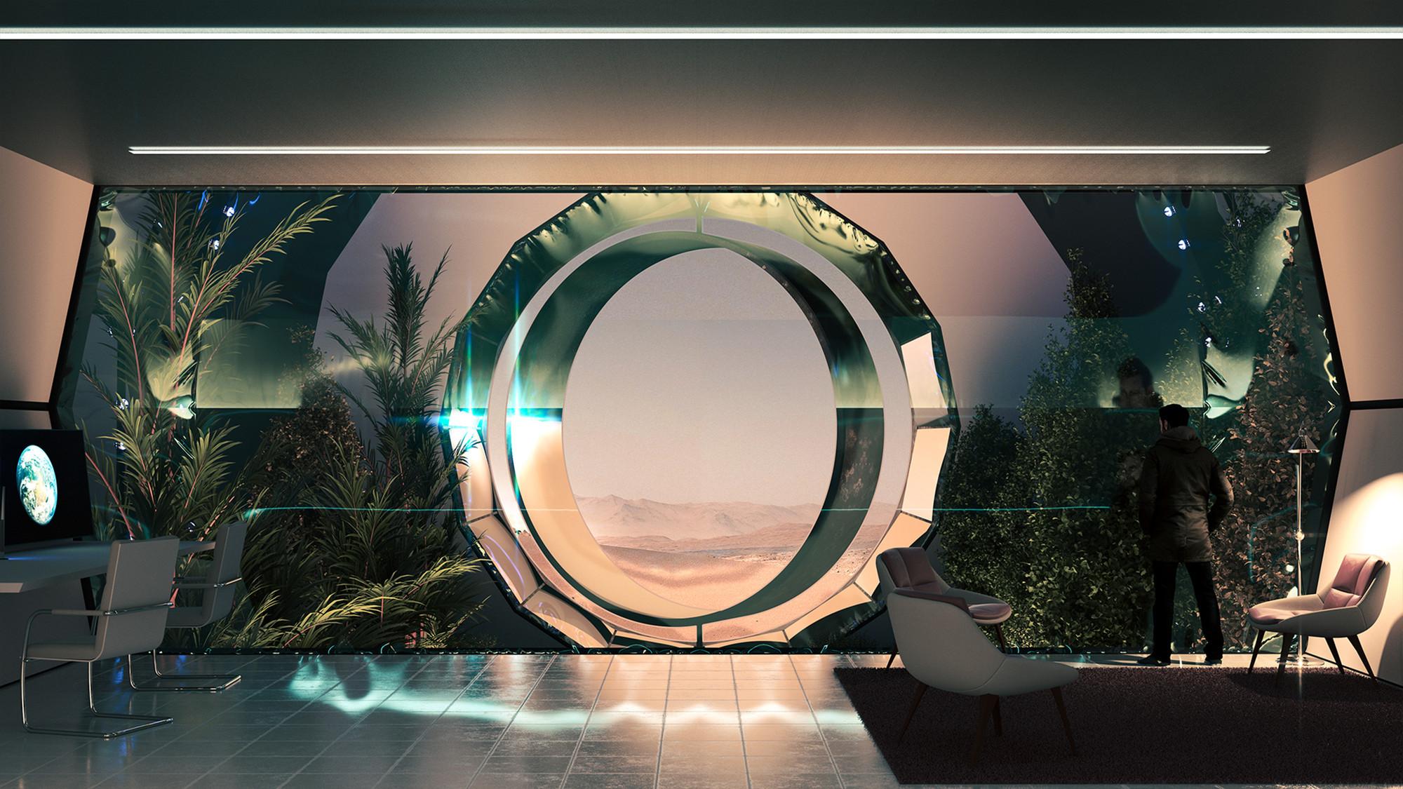 Prvo zeleno mesto na Marsu