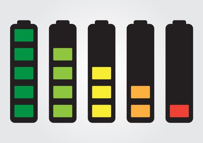 Padanje napolnjenosti baterije
