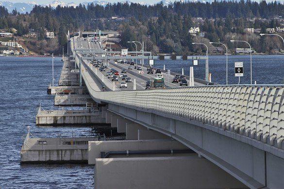 Evergreen Point Floating Bridge - najdaljši lebdeči most na svetu