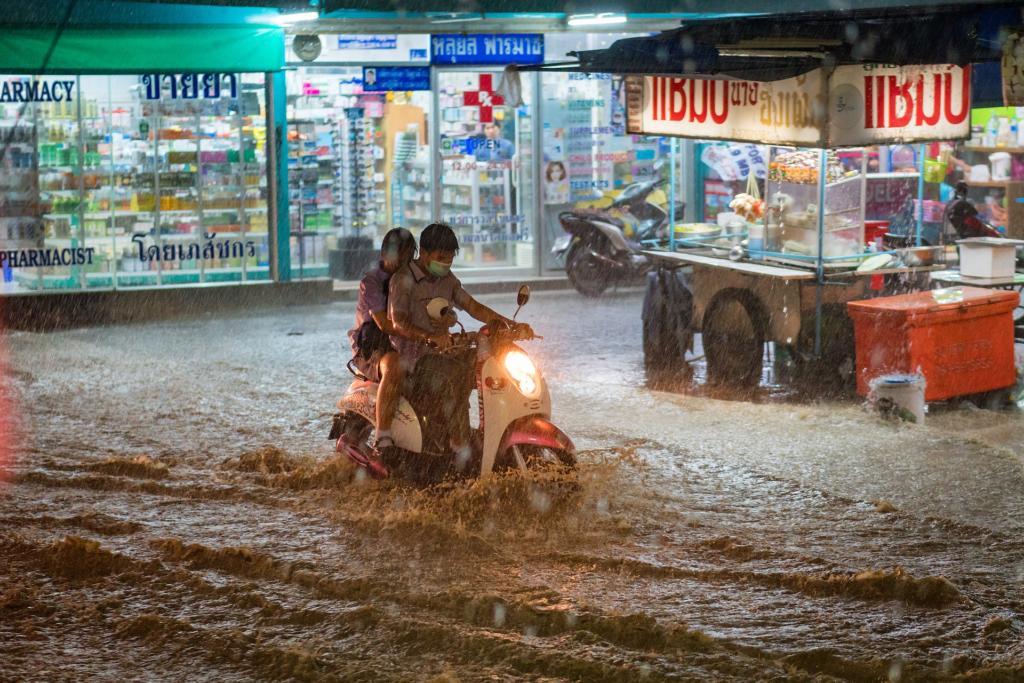 Poplava v mestu
