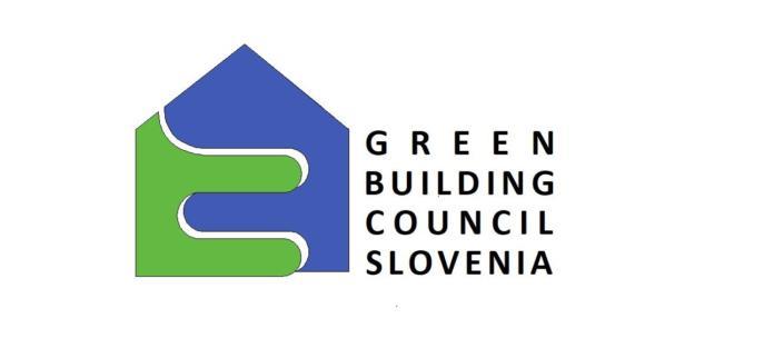 logo Green building council Slovenia