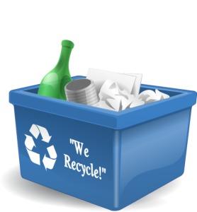 Zabojnik za reciklažo
