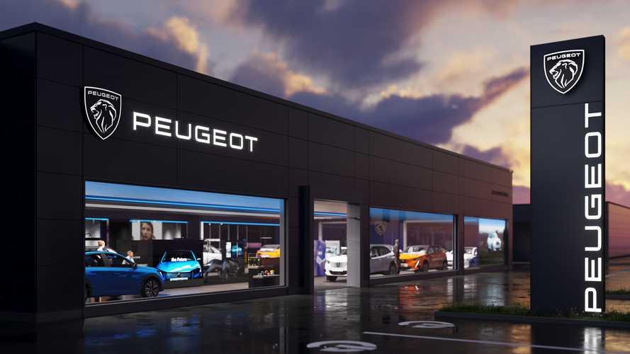 Peugeotov logotip, ki bo krasil nove avtomobile, prodajalne in spletno stran