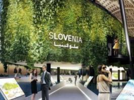 Slovenski pavilijon na razstav Expo 2020 v Dubaju (Vir: Spirit)